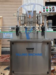 Automatic Two Head Volumetric Filling Machine