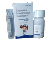 AVUDOX-50 DRY Cefpodoxime 50 mg WITH WATER