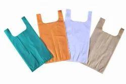 Plain U Cut Non Woven Bags, For Shopping