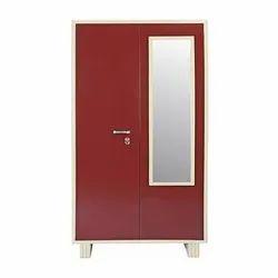 Steel Almirah, Modern, 2 doors