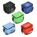 Custom Logo Printed Foldable Waterproof Insulated Lunch Cold Grocery Delivery Bag