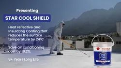 StarShield Star Cool Coating for Roof, Packaging Type: Bucket