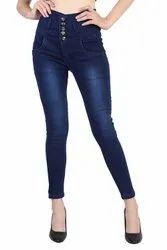 Prabhuratan Slim Women Denim Jeans - 5 button