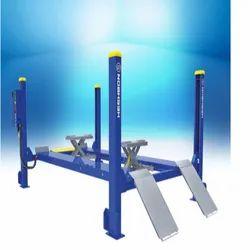 Heshbon Wheel Alignment Four Post Lift