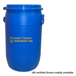 Un Approved HDPE Drums With IIP Certificate