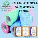 Heavy Duty Disposable Non Woven Kitchen Cleaning Dish Cloth