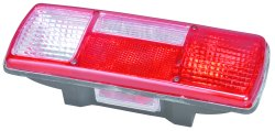 Four Chamber Tail Light Assembly