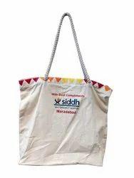 Cotton Canvas Zippered bag