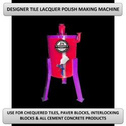 Designer Tile Lacquer Polish Making Machine