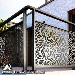 Interior Stainless Steel Laser Cut Grill