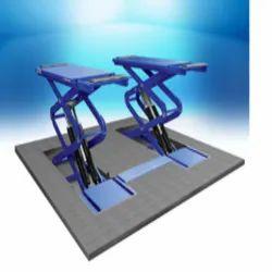 HESHBON Interactive Bay Scissor Lift 3.5 TON