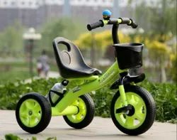 The Flyers Bay Easy To Roam Tricycle With Basket, Bell, Horn, Bottle Holder