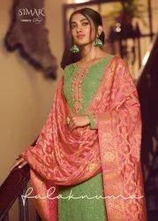 Pure Georgette Embroidery Formal Wear Glossy Simar Falaknama Presents By Kurti, Wash Care: Handwash