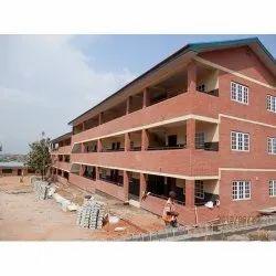 Concrete Frame Structures Commercial Projects School Building Construction Service