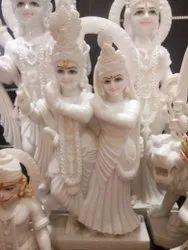Radha Krishna jugal jodi Marble statue....