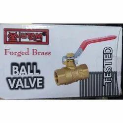 50 Mm Utam Forged Brass Ball Valves