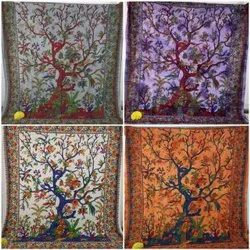 TREE DESIGN BOHEMIAN TAPESTRY