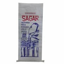 White Paper Laminated HDPE Bag