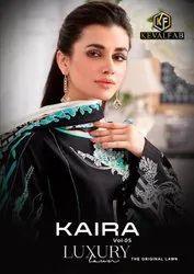 Keval Fab Kaira Luxury Lawn Vol-5 The Original Lawn Suits Catalog