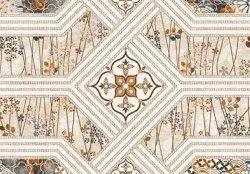 Gloss Rectangular Ceramic Bathroom Wall Tile, Thickness: 15 mm