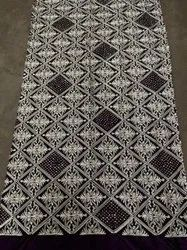 Embroidery Chain Stitch Work Fabric