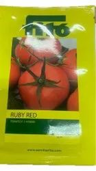 F1 Hybrid Ruby Red Tomato Seeds, Packaging Type: Packet, Packaging Size: 10g