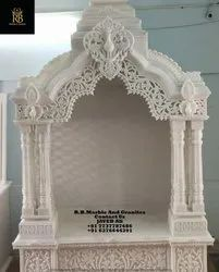 Decorative Stone Temple, For Home, Size: 4*6*2, 5*8*2.5 And Customizable