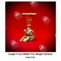 Golden Metal Decorative Pot