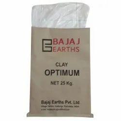 Printed 25 kg Kraft Paper Laminated HDPE Woven Bag, Rectangular