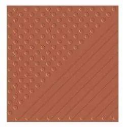 Parking Dot Strip Tile, Thickness: 6mm, Size: 2 x2feet