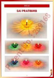 Sai Pratibimb ( Flower Reflection Diya)