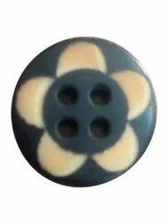 Round Plastic Shirt Button