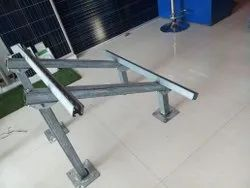 Solar Panel Mounting GI Structure