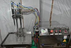 Gear Pump Based Paste And Liquid Filling Machine