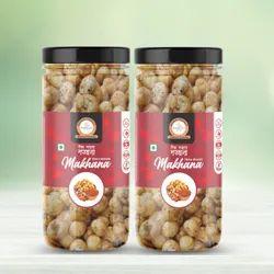 Flax Seeds Wholesale Flavour Roasted Makhana/ Indianfoxnut/ Tikka Masala, Packaging Size: 100 Grams