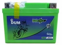 Cell Force CDZ 4L 4ah Bike Battery, Dimension: 11.3 X 7 X 8.5 Centimeters, Capacity: 12v