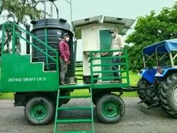 Mobile Biogas Plant with Solar