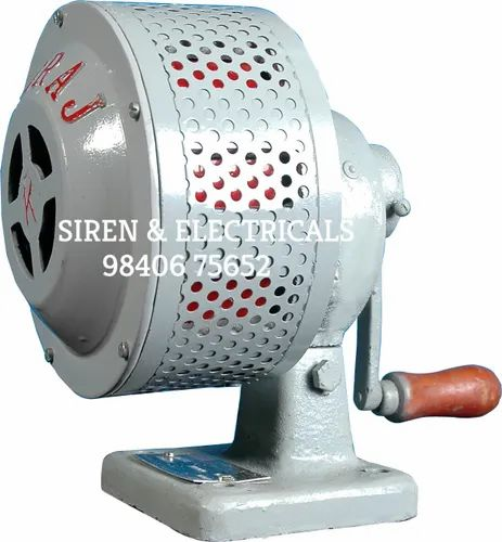 Hand Operated Electronic Siren