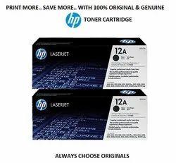 HP 12AF 2-pack Black Original LaserJet Toner Cartridges Q2612AF