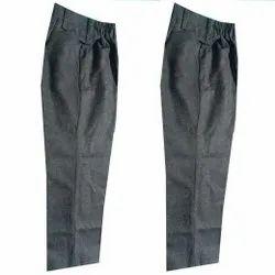 Cotton Boys Dark Grey School Trouser, Size: Small