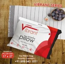 Vibrant Brand Readymade Pillow Packaging Bag For 17x27 Pillow