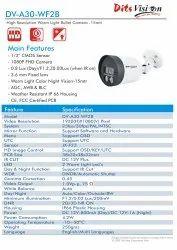 Ditsvision Bullet 2.4 MP Color night Camera ( DV-A30-WF2B ), Camera Range: 10 to 15 m