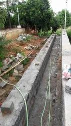 Brick Compound Wall Construction Service, in Pan India
