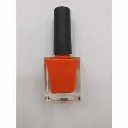 Orange Nail Polish, For Personal & Parlour, Bottle