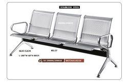 Three Seat Stainless Steel