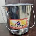17 Ltr. Stainless Steel Bucket With Lid