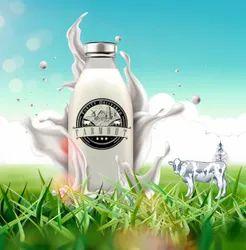 100% Pure Cow Milk