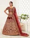 Exclusive Designer Heavy Work Semi-stitched Lehenga Choli