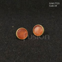 Fusion Arts Colour Stone Stud Earrings