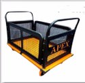 Metal Platform Cage Trolley